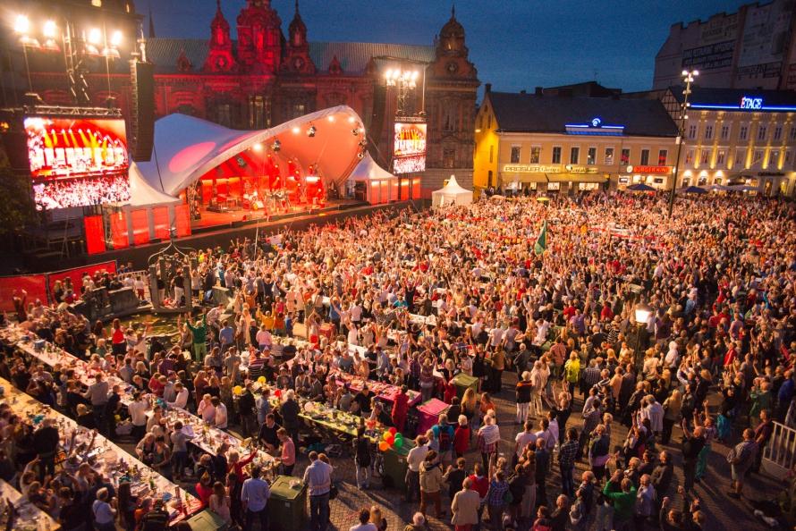 Kräftskiva Malmöfestivalen