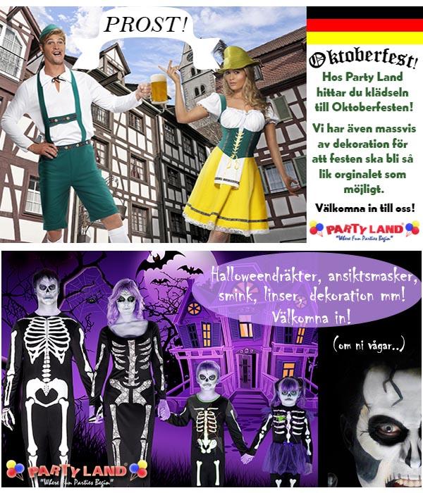 halloween party malmö